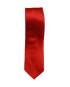 Krawatte Rot unicolor