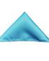 Einstecktuch Hellblau